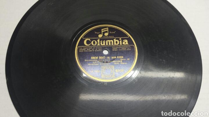 DISCO DE PIZARRA PARA GRAMOLA DE LAYTON & JOHNSTONE (Música - Discos - Pizarra - Solistas Melódicos y Bailables)