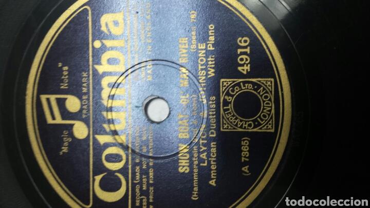 Discos de pizarra: Disco de Pizarra para Gramola de Layton & Johnstone - Foto 2 - 70270093