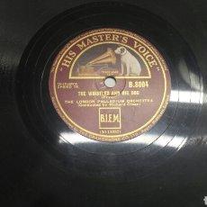 Discos de pizarra: DISCO DE PIZARRA PARA GRAMOLA DE LONDON PALLADIUM. Lote 70270215