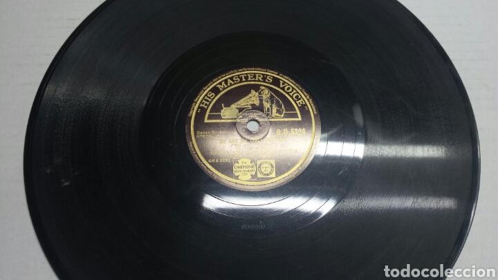 DISCO DE PIZARRA PARA GRAMOLA DE RONNIE MUNRO RARO (Música - Discos - Pizarra - Solistas Melódicos y Bailables)