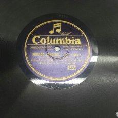Discos de pizarra: DISCO DE PIZARRA PARA GRAMOLA MARCHA MILITAR. Lote 70270710