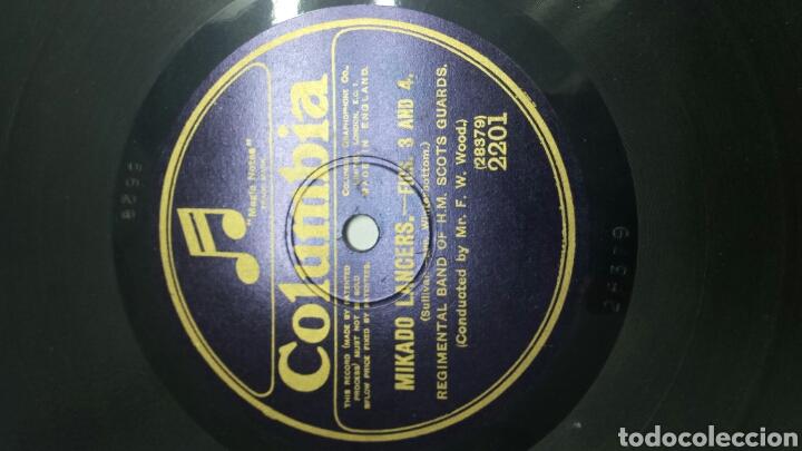 Discos de pizarra: Disco de Pizarra para Gramola Marcha Militar - Foto 2 - 70270710