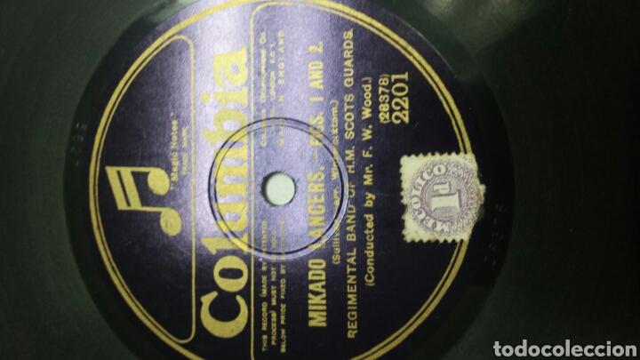 Discos de pizarra: Disco de Pizarra para Gramola Marcha Militar - Foto 3 - 70270710
