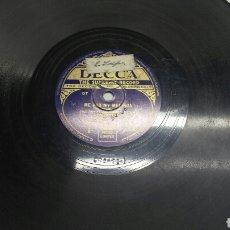 Discos de pizarra: DISCO DE PIZARRA PARA GRAMOLA MARCHA MILITAR. Lote 70271202