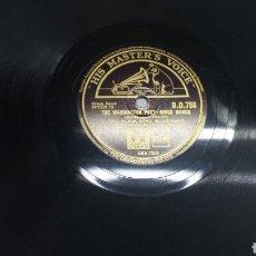 Discos de pizarra: DISCO DE PIZARRA PARA GRAMOLA DE MARCHA MILITAR. Lote 70271969