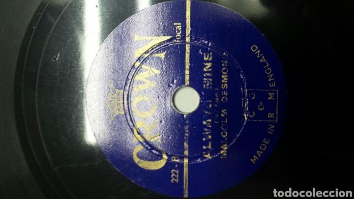 Discos de pizarra: Disco de Pizarra para Gramola tamaño raro - Foto 3 - 70272607