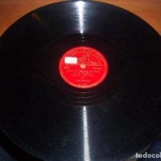 Discos de pizarra: DISCO DE PIZZARA GRANDE BEETHOVEN. ARTUR SCHNABEL. EDICION LA VOZ DE SU AMO. RARO. SIN PORTADA.. Lote 70576249