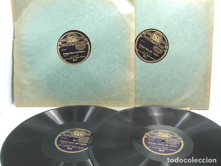 11X DISCO PIZARRA - CURSO DE INGLES ¡¡PERFECTOS¡¡ REGAL VIVA TONAL - PRIMER LIBRO -WALTER RIPMAN (Música - Discos - Pizarra - Otros estilos)