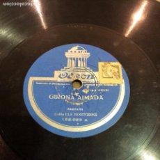 Discos de pizarra: GIRONA AIMADA.. Lote 71496215