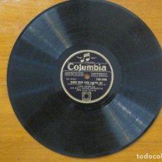 Discos de pizarra: JACK PAYNE & HIS BBC DANCE ORCHESTRA - 'CLOSE YOUR EYES' - 'GUILTY' 10'' SELLO COLUMBIA.. Lote 71858611