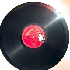 Discos de pizarra: PIZARRA 78 RPM. UNA CARA, SPIRITO GENTIL DE LA ÓPERA LA FAVORITA, POR ENRICO CARUSO. Lote 72189851