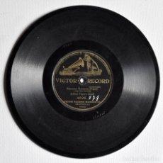 Discos de pizarra: DISCO DE PIZARRA 78 RPM, POR LA BANDA MILITAR DE ARTHUR PRYOR.. Lote 72731703