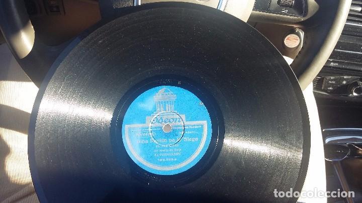 DISCO DE PIZARRA FOLKLORE ASTURIAS GAITA (Música - Discos - Pizarra - Flamenco, Canción española y Cuplé)