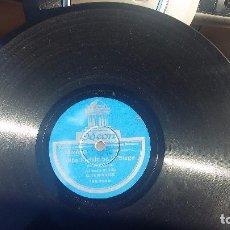 Discos de pizarra: DISCO DE PIZARRA FOLKLORE ASTURIAS GAITA. Lote 73091687