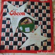 Discos de pizarra: BANDA HUMORISTICA LOS GANSOS - MARIANA / AUPA - DISCO PIZARRA 78 RPM. Lote 73517175