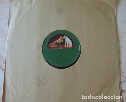 MANUEL VALLEJO - TARANTAS / GRANADINAS - DISCO PIZARRA 78 RPM (Música - Discos - Pizarra - Flamenco, Canción española y Cuplé)