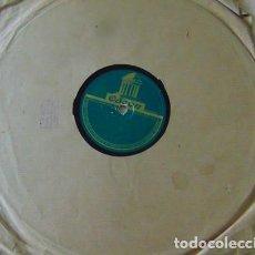 Discos de pizarra: CARMELA MONTES - DIOS TE LO PAGARA / LA ROSA DE CAPUCHINOS - DISCO PIZARRA 78 RPM. Lote 73517683