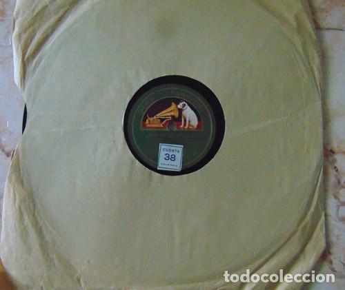MEDIA GRANADINA / SEGUIDILLAS GITANAS - MANUEL VALLEJO - DISCO PIZARRA 78 RPM (Música - Discos - Pizarra - Flamenco, Canción española y Cuplé)