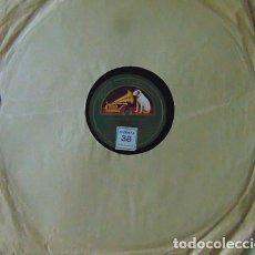 Discos de pizarra: MEDIA GRANADINA / SEGUIDILLAS GITANAS - MANUEL VALLEJO - DISCO PIZARRA 78 RPM. Lote 73517903