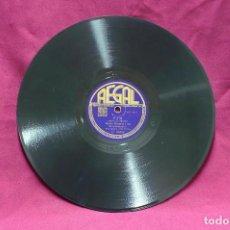 Discos de pizarra: WOODY HERMAN, NERO´S CONCEPTION, PAM, C10.02. REGAL.. Lote 73700655