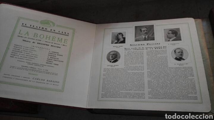 Discos de pizarra: Opera La Boheme 13 Discos La Voz de su Amo - Leer Descripción - - Foto 2 - 74624510