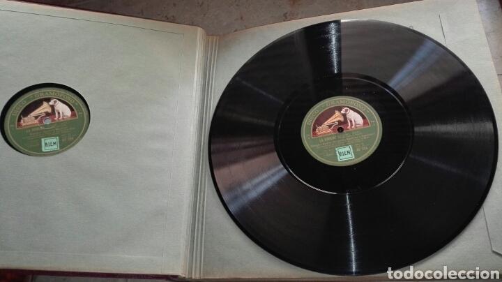 Discos de pizarra: Opera La Boheme 13 Discos La Voz de su Amo - Leer Descripción - - Foto 3 - 74624510