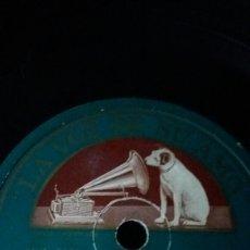 Discos de pizarra: DISCO DE PIZARRA LA PETENERA Y MÉJICO LINDO. LA VOZ DE SU AMO. IRMA VILA Y SU MARIACHI. Lote 74868101
