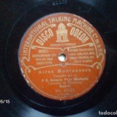 Discos de pizarra: ANTONIO POZO (MOCHUELO) - JOTAS ARAGONESAS + AIRES MONTAÑESES . Lote 75611807
