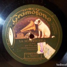 Discos de pizarra: DISCO GRAMOFONO..LA SCHOTISOFILA Y BERNABE NO ABRAS ---PILAR ALONSO ....(REF-1AC). Lote 77946181