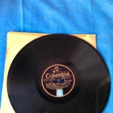 Discos de pizarra: DISCO DE PIZARRA 'COLUMBIA'- OH! QUE J'AIME PARIS - PIERRE CHAGNON. Lote 78077693