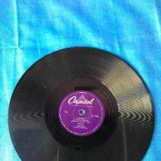 Discos de pizarra: DISCO DE PIZARRA 'CAPITOL'- VAYA CON DIOS - JOHNNY - LES PAUL AND MARY FORD. Lote 78078721