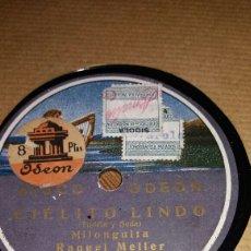Discos de pizarra: RAQUEL MELLER CIELITO LINDO/ MALDITO TANGO. Lote 78179395