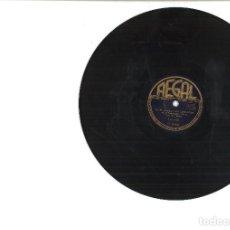 Discos de pizarra: DISCOS GRAMÓFONO. UNA LATINA DE MANHATTAN Y 10 DISCOS MAS. Lote 79315621