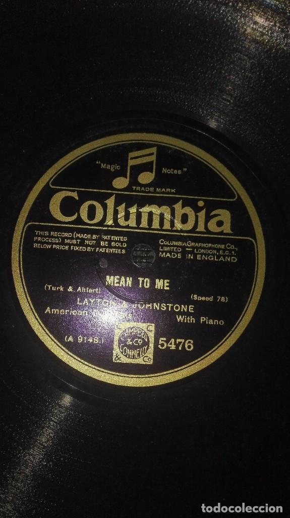 Discos de pizarra: disco pizarra antiguo columbia - Foto 3 - 79858589
