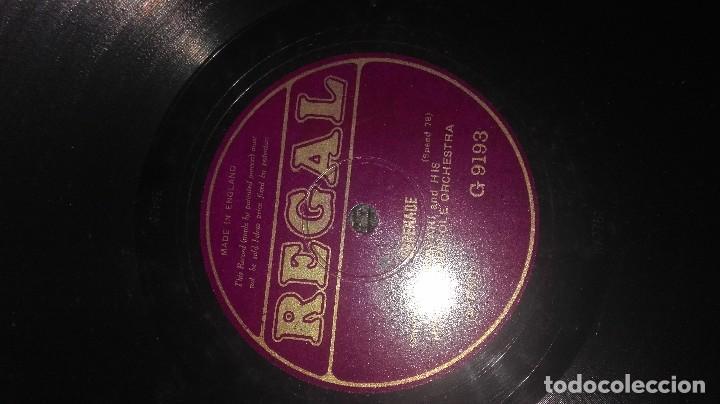 Discos de pizarra: disco pizarra antiguo regal - Foto 3 - 79859033