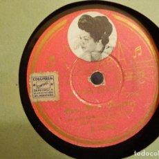 Discos de pizarra: DISCO DE PIZARRA - ANA MARÍA GONZÁLEZ - MARÍA BONITA / PECADORA - COLUMBIA R 14655. Lote 80539841