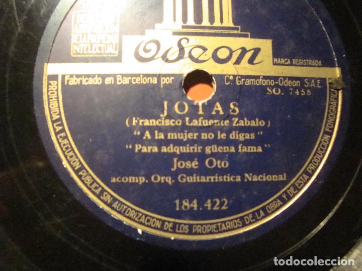 Discos de pizarra: JOTAS ARAGONESAS - Foto 2 - 80776806