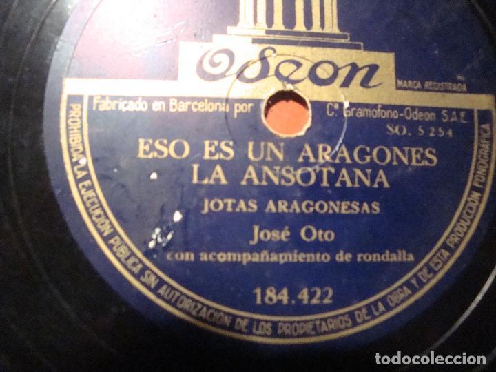 Discos de pizarra: JOTAS ARAGONESAS - Foto 3 - 80776806