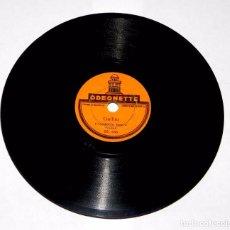 Discos de pizarra: DISCO DE PIZARRA JOTA ARAGONESA / GALLITO. 15 CMS. ODEONETTE, OE 334 Y OE 333, BUEN ESTADO DE CONSER. Lote 81276864