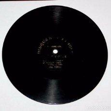 Discos de pizarra: DISCO ZONOPHONE, PIZARRA, PARECE QUE PONE LE CIGNE, N. 12010, MIDE 17,8 CMS.. Lote 81295596