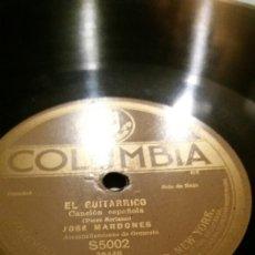 Discos de pizarra: EL GUITARRICO/LA TEMPESTAD . Lote 81583262