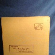 Discos de pizarra: ALBUM 5 DISCO PIZARRA BEETHOVEN SEPTIMA SINFONÍA EN LA MENOR OP 92 ORQ SINFÓNICA DE FILADELFIA. Lote 83329427