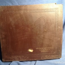 Discos de pizarra: ALBUM 12 DISCOS PIZARRA LA VOZ DE SU AMO HIS MASTER'S VOICE SINFONIA EN RE MENOR. Lote 83333356