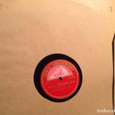 Discos de pizarra: ALBUM 12 DISCOS DE PIZARRA LA VOZ DE SU AMO DISCO GRAMÓFONO PRELUDIO PAU CASALS. Lote 83334787