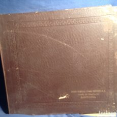 Discos de pizarra: ALBUM 10 DISCOS PIZARRA EL ARCHIDUQUE BEETHOVEN. Lote 83338991