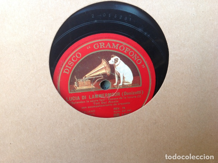 Discos de pizarra: ALBUM 12 DISCOS PIZARRA EL BARBERO DE SEVILLA MARINA LA DANZA EVA POLYDOR - Foto 3 - 83354552