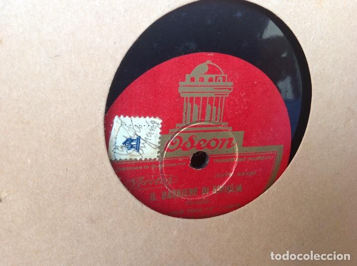 Discos de pizarra: ALBUM 12 DISCOS PIZARRA EL BARBERO DE SEVILLA MARINA LA DANZA EVA POLYDOR - Foto 7 - 83354552