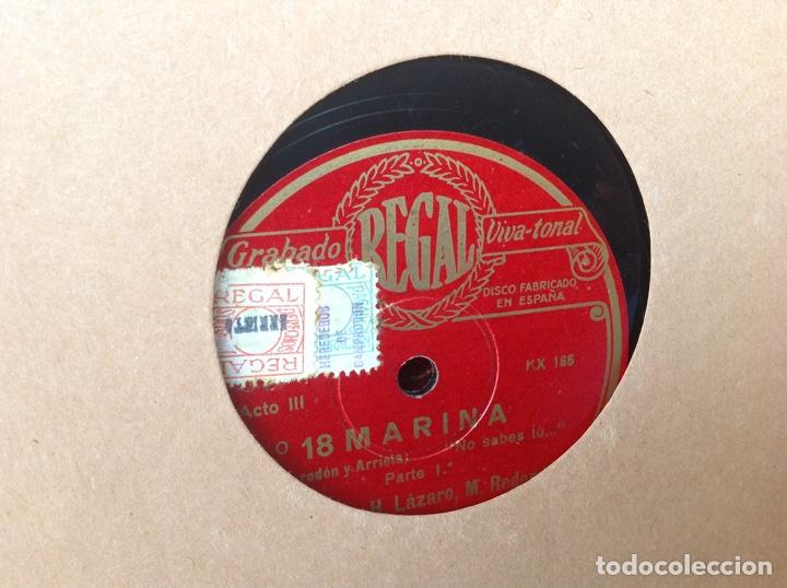 Discos de pizarra: ALBUM 12 DISCOS PIZARRA EL BARBERO DE SEVILLA MARINA LA DANZA EVA POLYDOR - Foto 11 - 83354552