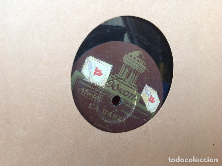 Discos de pizarra: ALBUM 12 DISCOS PIZARRA EL BARBERO DE SEVILLA MARINA LA DANZA EVA POLYDOR - Foto 13 - 83354552