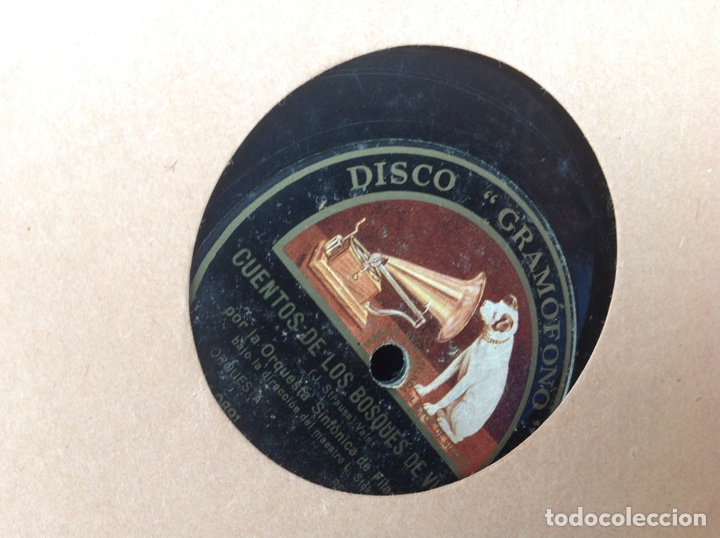 Discos de pizarra: ALBUM 12 DISCOS PIZARRA EL BARBERO DE SEVILLA MARINA LA DANZA EVA POLYDOR - Foto 20 - 83354552